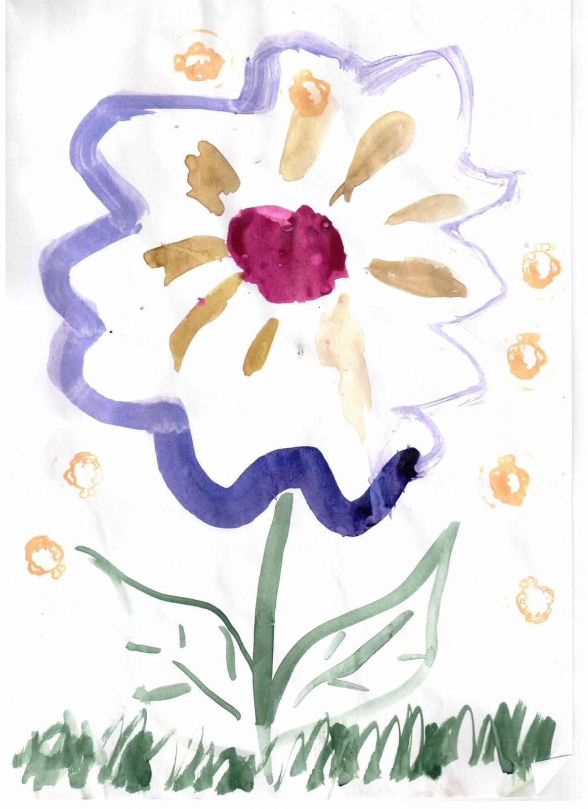 научить ребенка рисовать