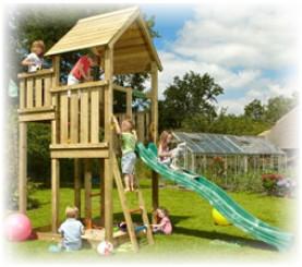 Детские площадки и игровые комплексы для дачи