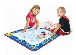 Учимся играя. Украиноязычный развивающий коврик Аква Дудл