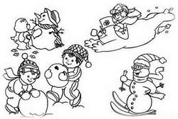 Прогулки зимой для иммунитета ребенка
