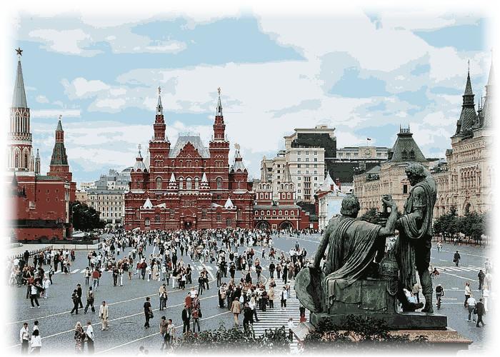 поездка в Москву с детьми