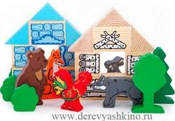 Деревянные игрушки конструкторы