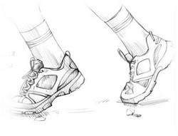 мода на мужскую спортивную обувь