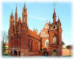 Поездка с детьми в Вильнюс