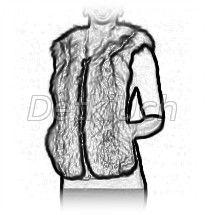 мода на меховой жилет