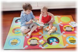 Puzzle-коврик для ползания