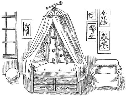 Оформим спальню сами